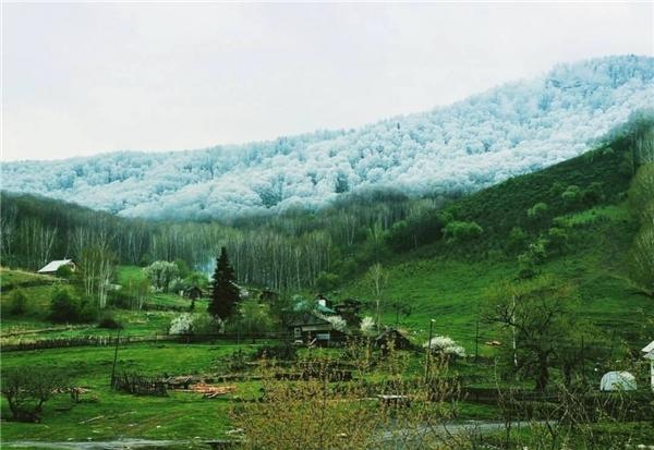 Đây chính là cách mà băng tuyết đã tràn vào dãy Alta.