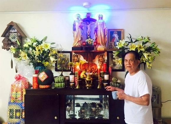 Những bức ảnh hiếm hoi của Minh Thuận bên người cha hơn 100 tuổi - Tin sao Viet - Tin tuc sao Viet - Scandal sao Viet - Tin tuc cua Sao - Tin cua Sao