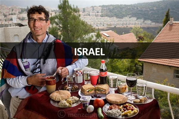 Ofer Sabath Beit-Halachmi (43 tuổi), sống tại Tzur Hadassah, Israel: 3.100 calo mỗi ngày