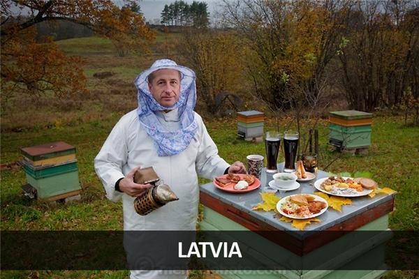 Aivars Radzins, thợ nuôi ong và trồng rừng ở Vecpiebalga, Latvia