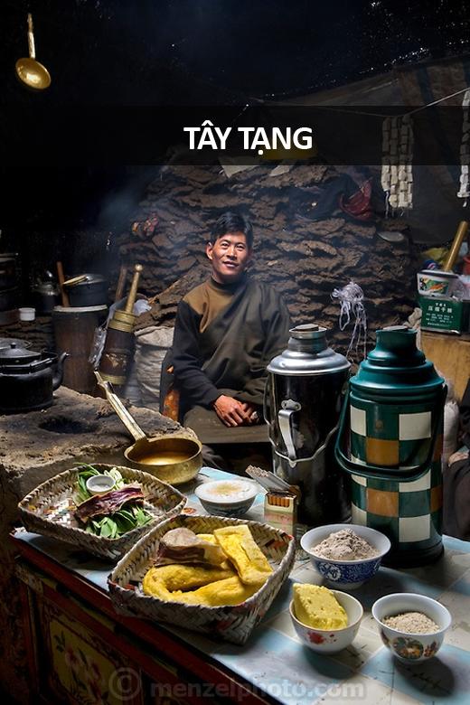 Karsal (30 tuổi), chăn bò tại Cao nguyên Tây Tạng: 5.600 calo mỗi ngày