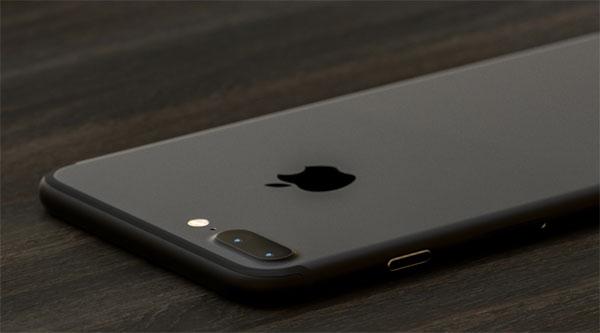 iPhone 7 Plus màu đen nhám. (Ảnh: internet)