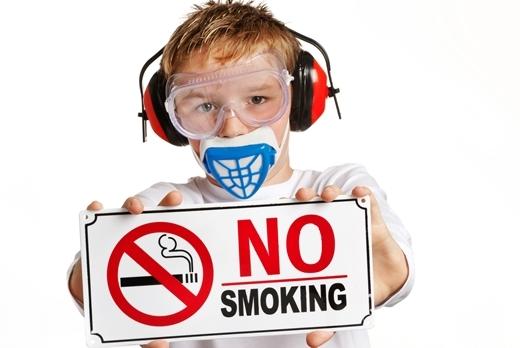 Không hút thuốc lá để bảo vệ sức khỏe của bạn và mọi người xung quanh.