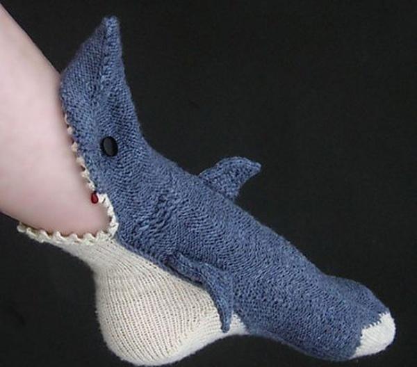 Tất cá mập, món phụ kiện dành cho những ai yêu thích phim kinh dị.