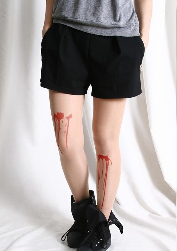 Xương người, máu hay những bó cơ khiến người xem đôi phần khiếp sợ. Trong những dịp hóa trang kinh dị, đây sẽ là lựa chọn tuyệt vời cho bạn đấy nhé.
