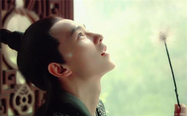 Với vai diễn đầu tay thiếu gia Giả Bảo Ngọc, Dương Dương đã gây chú ý với vẻ đẹp trong sáng.