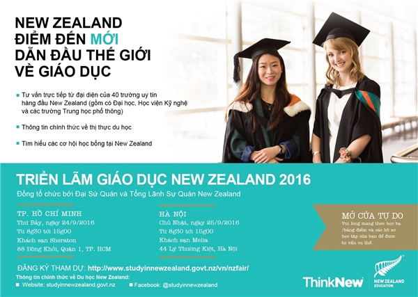 Đăng ký tham gia triển lãm ngay hôm naytạihttp://www.studyinnewzealand.govt.nz/vn/nzfair/ .