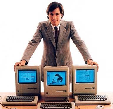 Steve Jobs khi còn trẻ.