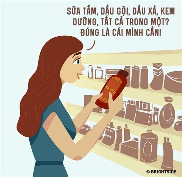 Sống theo phong cách nam giới, phụ nữ chẳng phải sốt sắng hết lên với nào là dầu gội, dầu xả, kem dưỡng da... mỗi thứ một món nữa mà chỉ cần tìm mua những loại hóa mỹ phẩm n trong 1 là đủ sống hết đời.