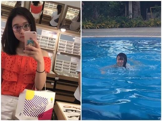Nên nhớ quy tắc thứ nhất để có bức ảnh đẹp: không nhờ bạn trai chụp ảnh khi đang bơi, yên tâm, thể nào nó cũng không giống ảnh trên tạp chí được đâu.