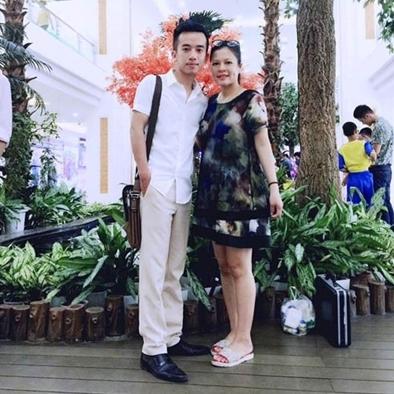 Nguyễn Nam và vợ