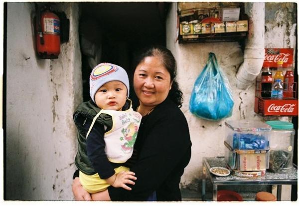Em bé Hà Nội. Ảnh: Nguyễn Danh Khoa