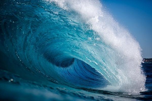 Mỗi tác phẩm của anh đều nói lên tâm tình của biển.