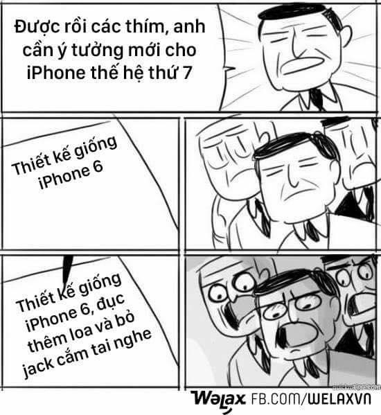 Ngoại trừ việc thêm loa, bỏ jack cắm tai nghe thì iphone 7 hầu như không có gì đáng nói.