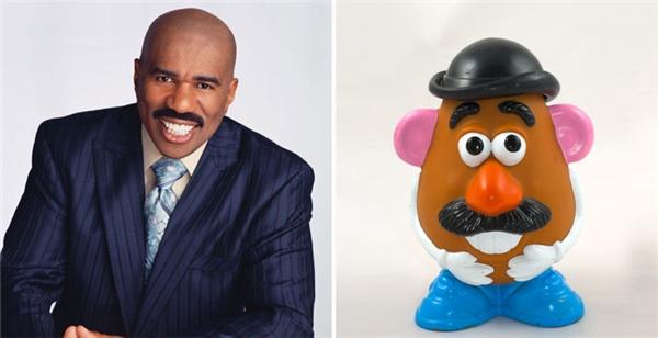 Quý ông Potato trong loạt phim Toy Story có khi nào được xây dựng trên hình tượng của Steve Harvey?