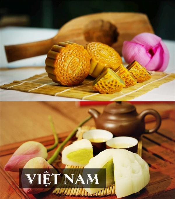 Ngoài thập cẩm, nhân bánh Trung thu người Việtcòn biến tấu vớiđậu xanh, sầu riêng, khoai môn,...