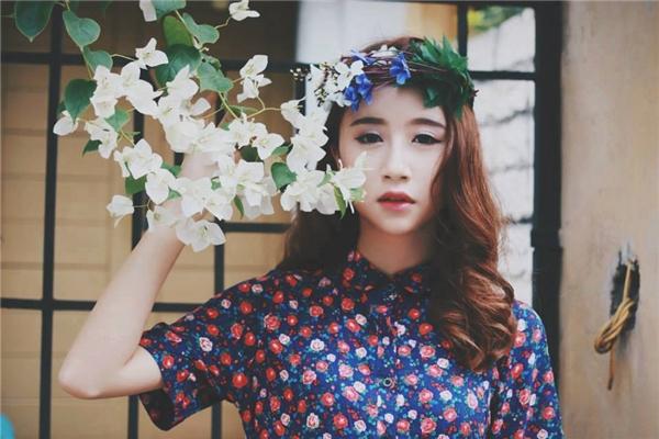 Quỳnh Anhngày càngthay đổi và trở nênxinh đẹp. (Ảnh: Internet)