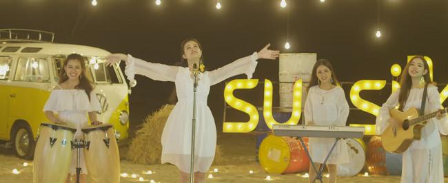 """Ngoài giai điệu vui tươi cùng ca từ dễ thương, MV My sunshine của Đông Nhi còn có những cảnh quay rất """"đã"""" mắt."""