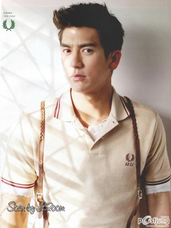 Jesdaporn Pholdeelà một nam diễn viên, ca sĩ, người mẫu, nhà sản xuất và dẫn chương trình được yêu thích tại Thái Lan.