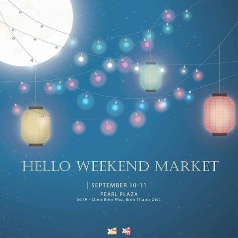 Chuẩn bị đồ đẹp đón trung thu cùng Hello Weekend Market