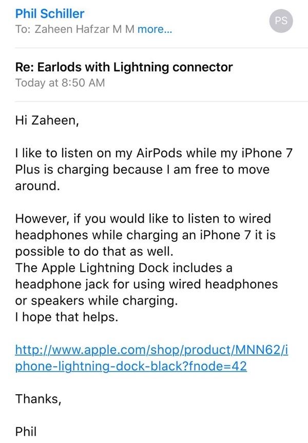iPhone 7 bỏ tai nghe 3.5 mm rồi, làm sao vừa sạc vừa nghe nhạc?