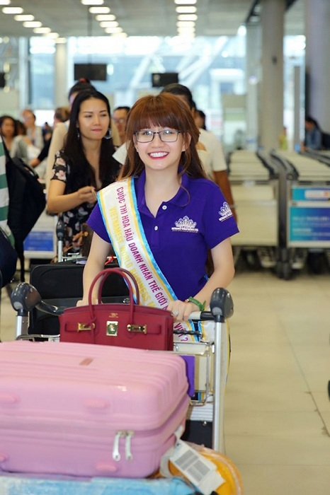 Hình ảnh đầu tiên khi đáp chuyến bay tại Thailand Của Doanh nhân Ngọc Huyền.
