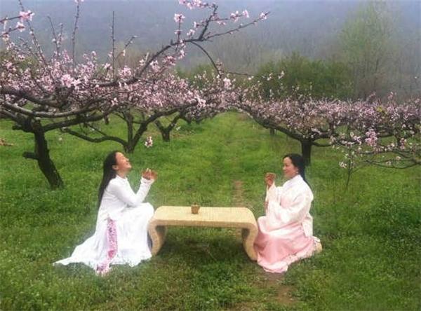 Còn gì vui bằng cùng bạn bè đắm mình trong hương vị của thiên nhiên, nhấm nháp li trà ấm.