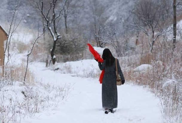 Cảnh sắc mùa đông thật đẹp đến nao lòng.