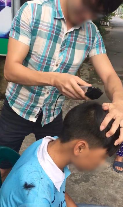"""Phần tóc phía sau sẽ được """"dọn dẹp"""" cho mát mẻ hơn."""