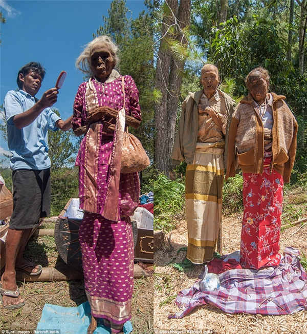 Choáng váng với nghi lễ đào mộ để bày tỏ lòng thành kính với tổ tiên