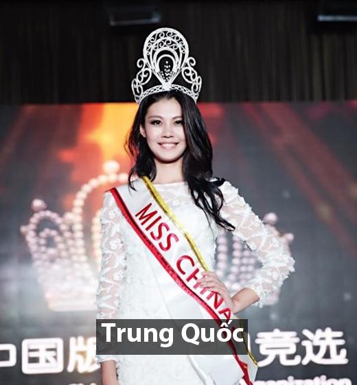 Hoa hậu Quốc tế Trung Quốc 2016 - Jennifer Coosemans