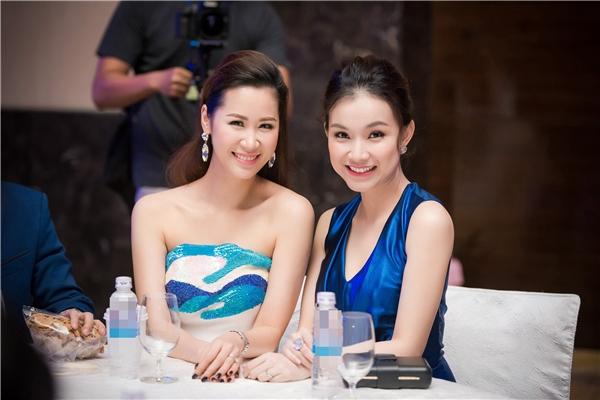 Hai người đẹp có mối quan hệ thân thiết từ khi tham gia Hoa hậu Hoàn vũ Việt Nam 2008. Tuy nhiên, sau khi lập gia đình, Dương Thùy Linh và Thùy Lâm ít có cơ hội gặp mặt do bận công việc riêng.