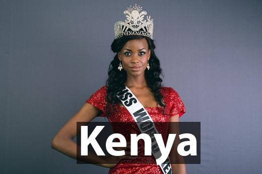 Hoa hậu Thế giới Kenya 2016 -Evelyn Njambi