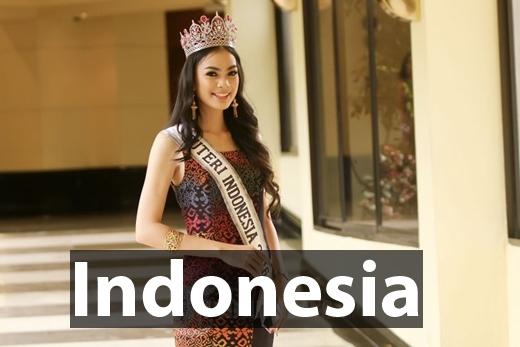 TânHoa hậu Hoàn vũ Indonesia 2016 - Kezia Warouw
