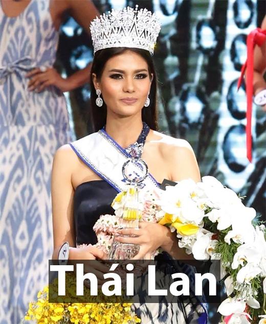 TânHoa hậu Hoàn vũ Thái Lan 2016 - Chalita Suansanae