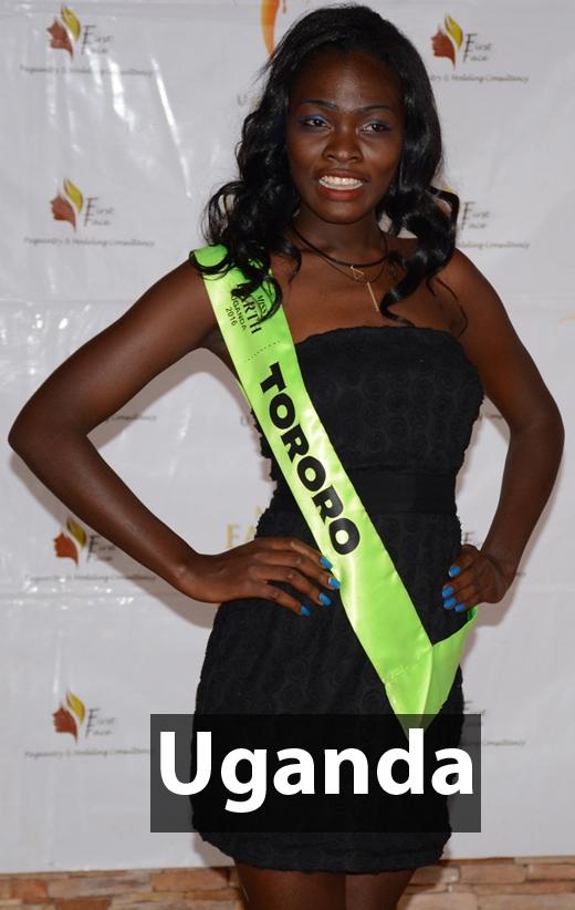 Tân Hoa hậu Trái đất Uganda 2016 - Priscilla Achieng