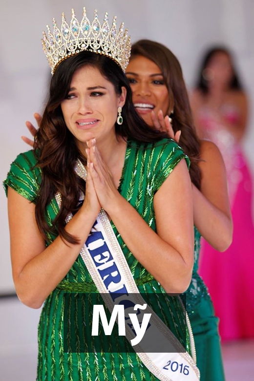 Hoa hậu Thế giới Mỹ 2016 - Audra Mari