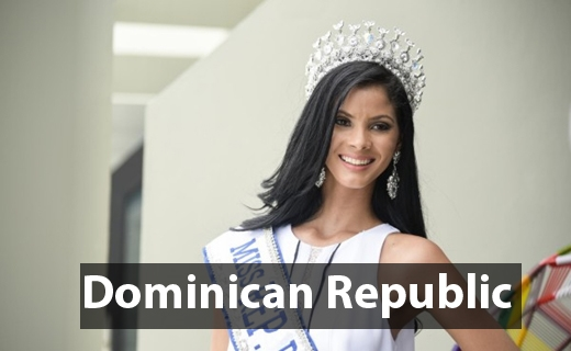 Tân Hoa hậu Hoàn vũDominican Republic 2016 -Sal García