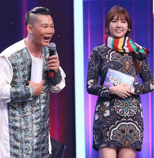 Hari Won mượn váy của mẹ Trấn Thành?