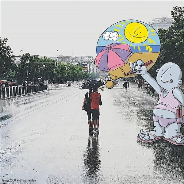 Có đi qua những ngày mưa mới yêu thêm những ngày nắng. (Ảnh: Instagram)
