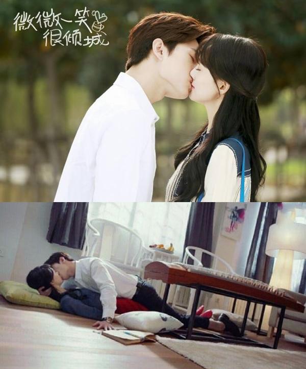 Nụ hôn ngọt ngào tới chết người trong phim.