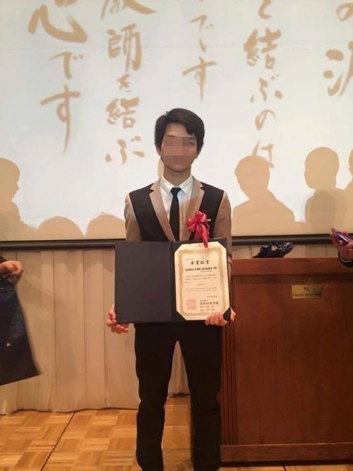Đặng Văn Quang khi còn du học tại Nhật Bản