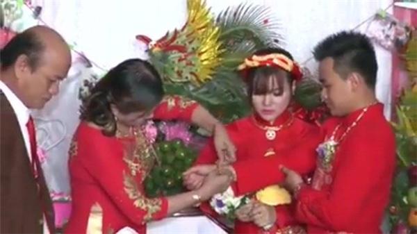 Đám cưới được diễn ra ở miền Trung