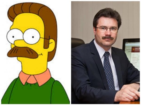 Ơn giời, ông Ned Flanders của The Simpsons đây rồi! (Ảnh: Bright Side)
