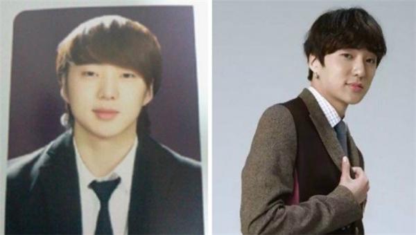 Vẫn là đôi mắt hí và bờ môi quyến rũ ấy, Kang Seung Yoon (Winner) ngày xưa hay hiện tại đều toát lên sức hút khó cưỡng. Có điều, trông anh hiện tại còn trẻ hơn nhiều năm về trước khi còn ngồi trên ghế nhà trường.