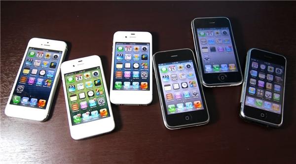 Dải ăng-ten chạy dọc cạnh máy trên iPhone 4. (Ảnh: internet)