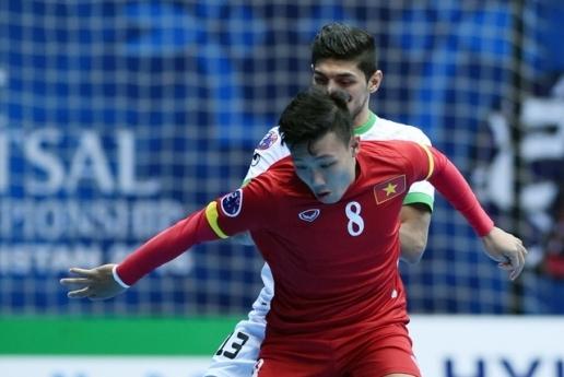 Nguyễn Minh Trí lập hattrick tại World Cup Futsal. Ảnh: Internet.