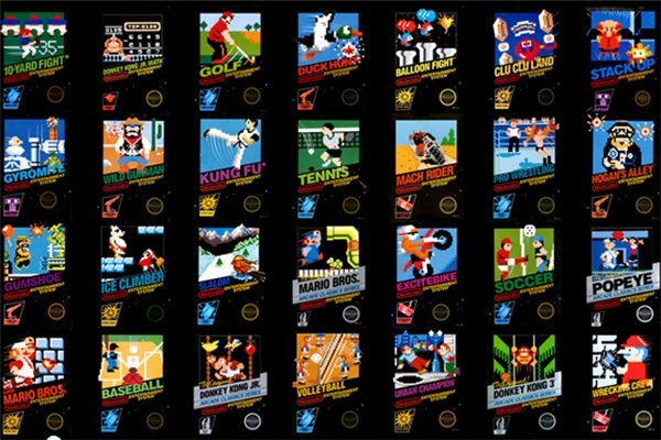 Bạn biết được bao nhiêu trong những game của Nintendo? (Ảnh: internet)
