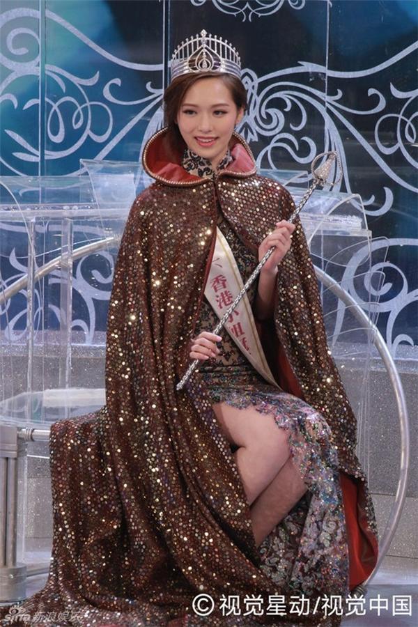 Phùng Doanh Doanh đã chính thức trở thành Hoa hậu Hong Kong 2016.