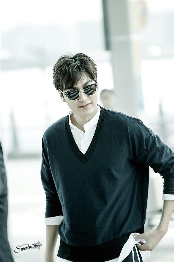 """Lee Min Ho bảnh trai xuất ngoại ghi hình cùng """"mợ chảnh"""""""
